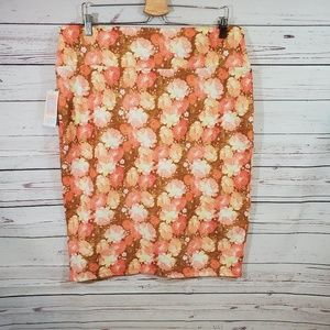 Lularoe Cassie Floral 3XL NWT Fall Colors Skirt